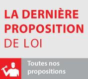 La derniere proposition de loi
